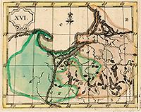 Карта Пруссии (La Prusse), 1784 г.