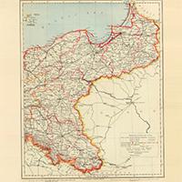 Карта Германской Империи. 1883 г.
