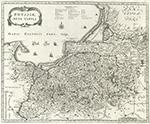 Карта Пруссии, 1593-1650 г.