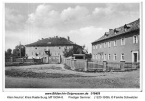 Klein Neuhof, Kreis Rastenburg