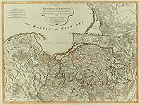 Карта Восточной Пруссии, 1794 г.