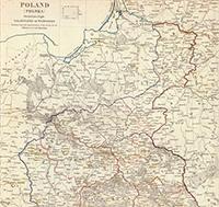 Карта Восточной Пруссии и Польши. 1831 г.