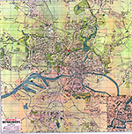 План Кёнигсберга (Plan Königsberg). 1938 год.