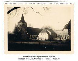 Fließdorf, Kreis Lyck