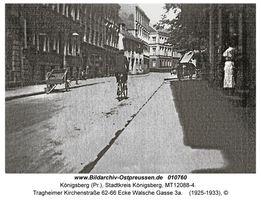 Königsberg (Pr.), Stadtkreis Königsberg Tragheimer Kirchenstraße 62-66