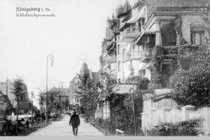 Königsberg (Pr.), Stadtkreis Königsberg Schlossteichpromenade