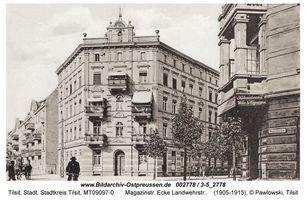 Tilsit, Stadt, Stadtkreis Tilsit Magazinstraße