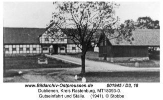 Dublienen, Kreis Rastenburg