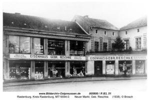 Rastenburg, Stadt, Kreis Rastenburg Neuer Markt 3 - 7