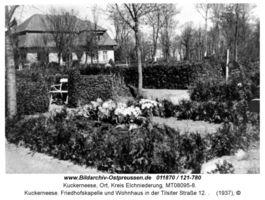 Kuckerneese, Ort, Kreis Elchniederung Tilsiter Straße 12