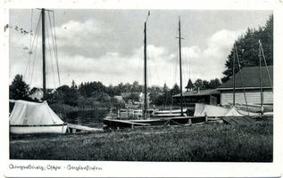 Angerburg Kr. Angerburg, Stadt, Kreis Angerburg Uferpromenade