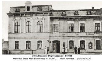 Mehlsack, Stadt, Kreis Braunsberg