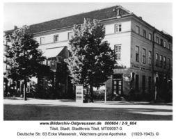 Tilsit, Stadt, Stadtkreis Tilsit Deutsche Straße 63