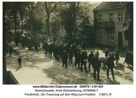 Heinrichswalde Kr. Elchniederung, Kreis Elchniederung Friedrichstraße, Heinrichswalde