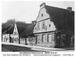Tilsit, Stadt, Stadtkreis Tilsit Goldschmiedestraße