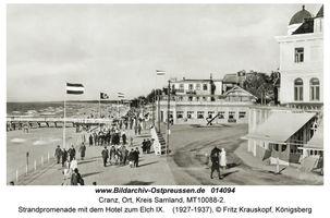 Cranz Kr. Samland, Ort, Kreis Samland