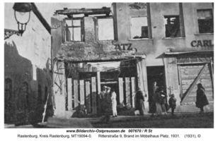 Rastenburg, Stadt, Kreis Rastenburg Ritterstraße 9