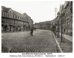 Ortelsburg, Stadt, Kreis Ortelsburg Marktstraße (Marktplatz)