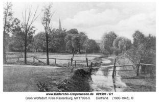 Groß Wolfsdorf, Kreis Rastenburg