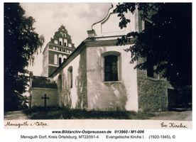 Mensguth Dorf, Kreis Ortelsburg
