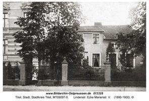 Tilsit, Stadt, Stadtkreis Tilsit Lindenstraße