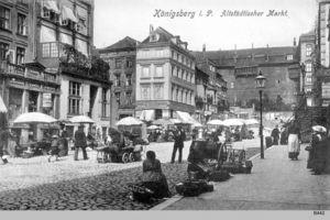 Königsberg (Pr.), Stadtkreis Königsberg Altstädtischer Markt