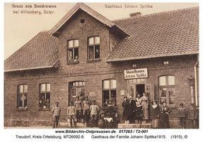 Treudorf, Kreis Ortelsburg