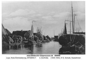 Loye, Ort, Kreis Elchniederung
