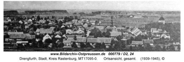 Drengfurth, Stadt, Kreis Rastenburg