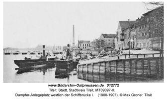 Tilsit, Stadt, Stadtkreis Tilsit Memelstraße