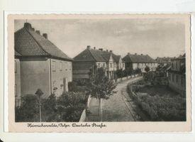 Heinrichswalde Kr. Elchniederung, Kreis Elchniederung Deutsche Straße