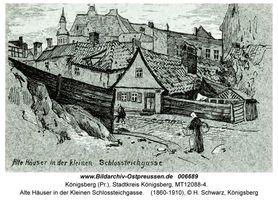 Königsberg (Pr.), Stadtkreis Königsberg Kleine Börsenstraße