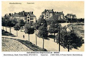 Bischofsburg, Stadt, Kreis Rößel Allensteiner Straße