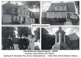 Grünhayn, Kreis Wehlau