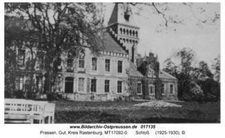 Prassen Kr. Rastenburg, Gut, Kreis Rastenburg