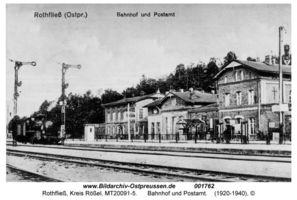 Rothfließ, Kreis Rößel