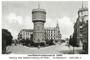 Insterburg, Stadt, Stadtkreis Insterburg Göringstraße (fr. Kasernenstraße)