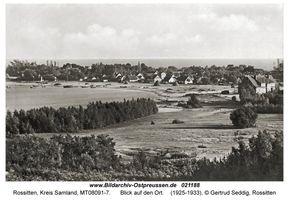 Rossitten Kr. Samland, Kreis Samland