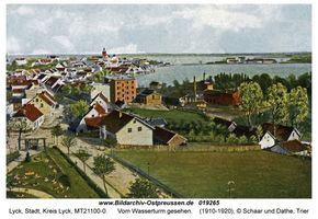 Lyck, Stadt, Kreis Lyck