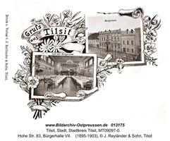Tilsit, Stadt, Stadtkreis Tilsit Hohe Straße 83