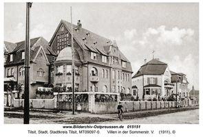 Tilsit, Stadt, Stadtkreis Tilsit Sommerstraße