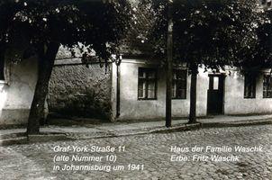 Johannisburg, Kreis Johannisburg Graf-Yorck-Straße (fr. Warschauer Straße) 11