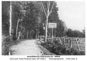 Groß Lauth, Kreis Preußisch Eylau