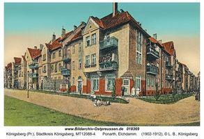 Königsberg (Pr.), Stadtkreis Königsberg Elchdamm
