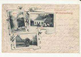 Wilhelmsberg Kr. Angerapp, Ort, Kreis Angerapp