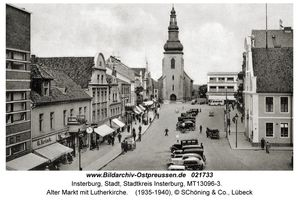 Insterburg, Stadt, Stadtkreis Insterburg Alter Markt 14-17