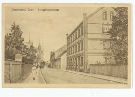 Johannisburg, Kreis Johannisburg Königsberger Straße
