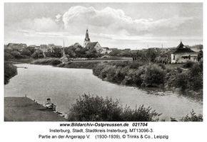 Insterburg, Stadt, Stadtkreis Insterburg