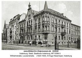 Insterburg, Stadt, Stadtkreis Insterburg Wilhelmstraße