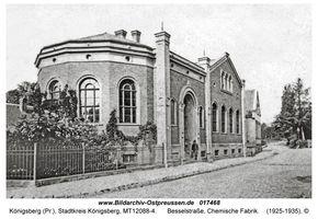 Königsberg (Pr.), Stadtkreis Königsberg Besselstraße 4
